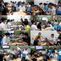 【2019夏令營:高中python程式設計暑假班(14:00彥甫老師班)8/5~8/14】課程側拍
