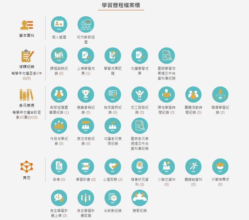 108學生學習歷程檔案系統01