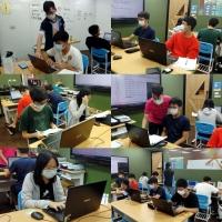 【Let's Code一起程式吧】2020暑假夏令營20:【APCS 程式基本觀念-C語言專題班】課程側拍