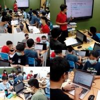 【Let's Code一起程式吧】2020暑假夏令營13:【C++資工必修-程式專題實作營 8/3-8/13】課程側拍